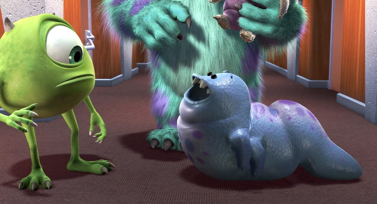 bebe smitty personnage character monstres monsters inc cie disney pixar