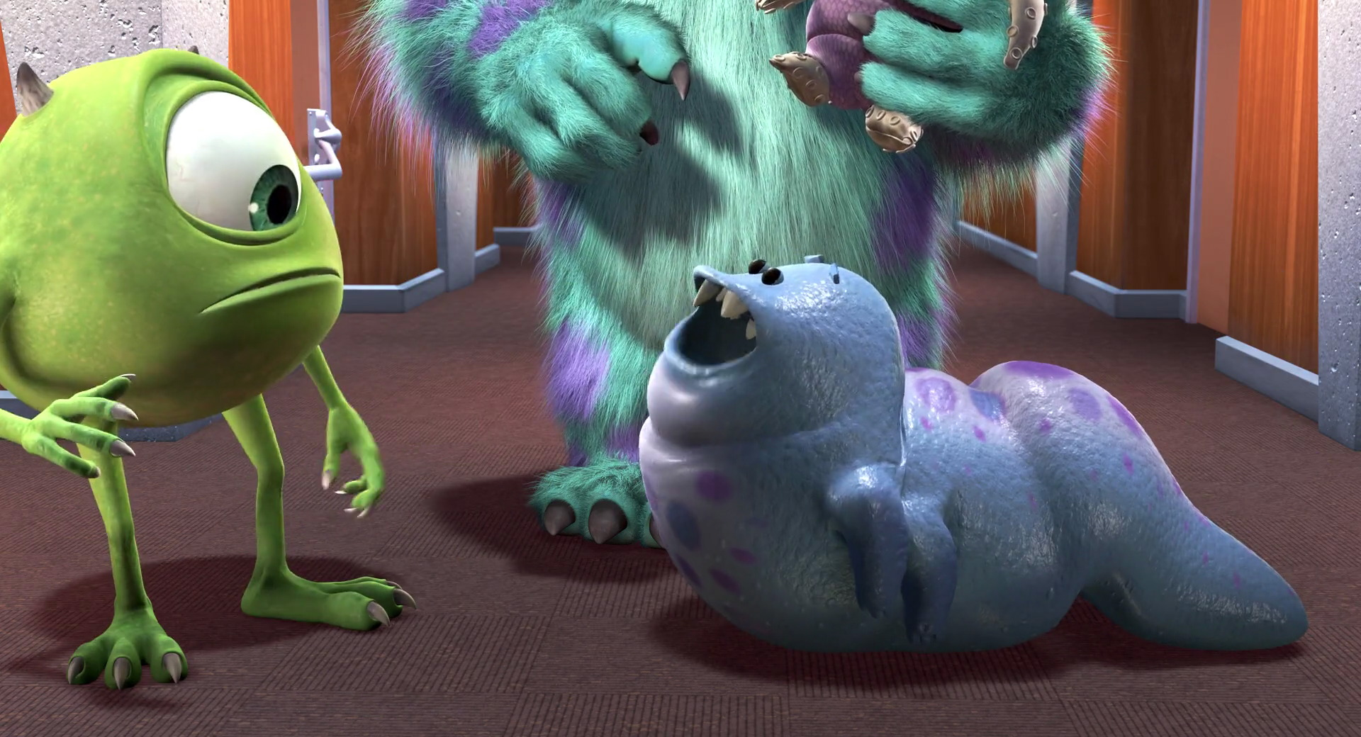 bebe smitty pixar disney personnage character monstres cie monsters inc