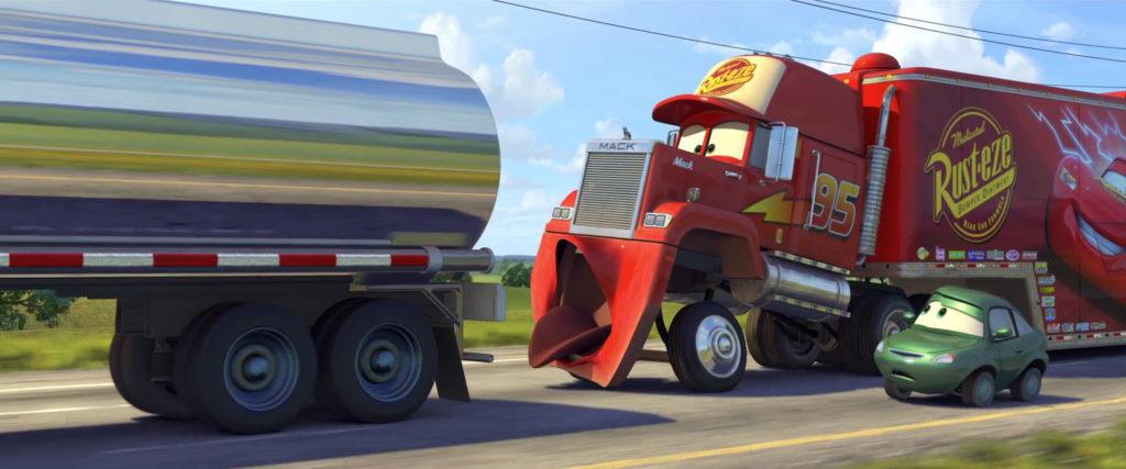bertha butterswagon personnage character pixar disney cars