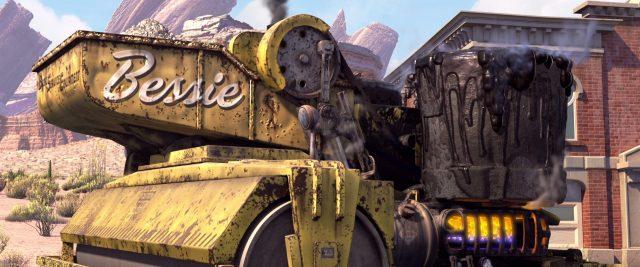 bessie personnage character cars disney pixar
