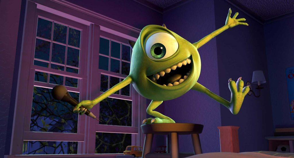 pixar disney bob razowski mike wazowski monstres monter personnage character