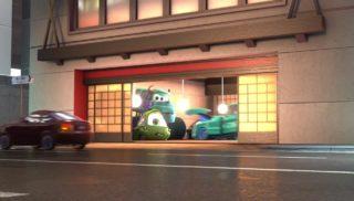 bob mike  personnage character pixar disney tokyo martin mater
