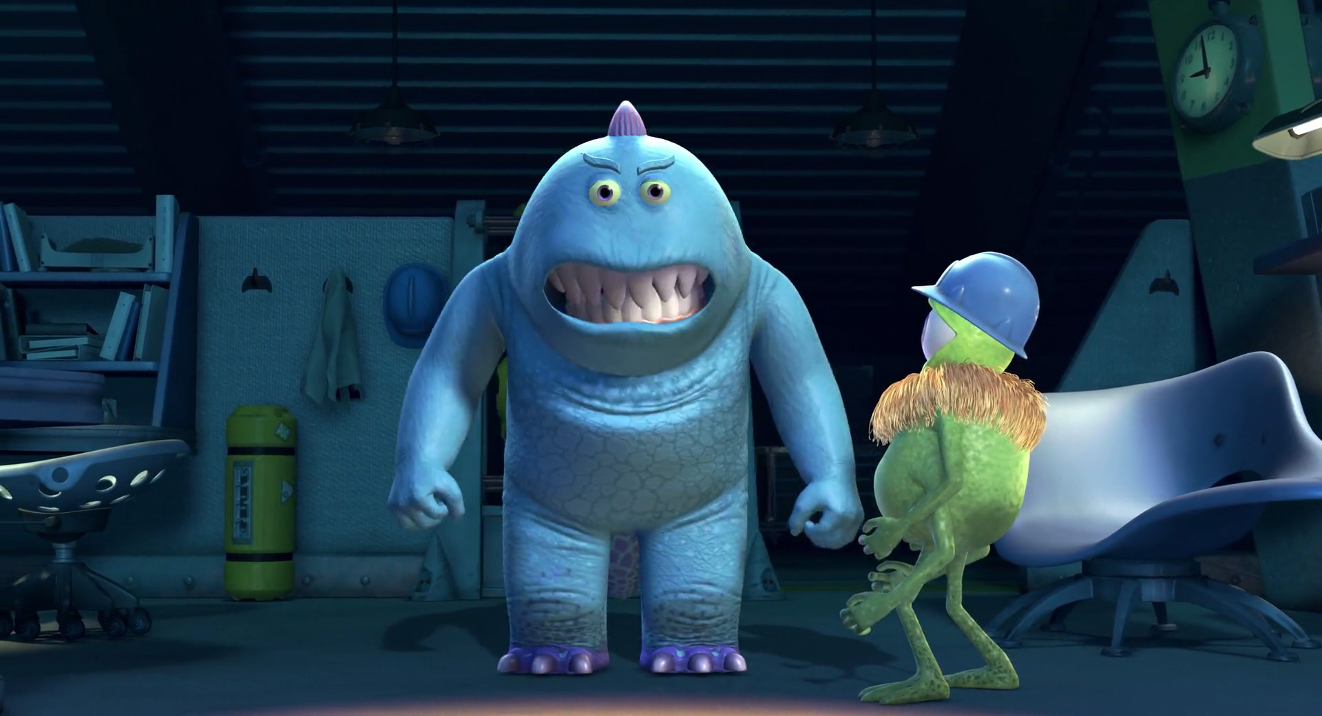 bob peterson pixar disney personnage character monstres cie monsters inc