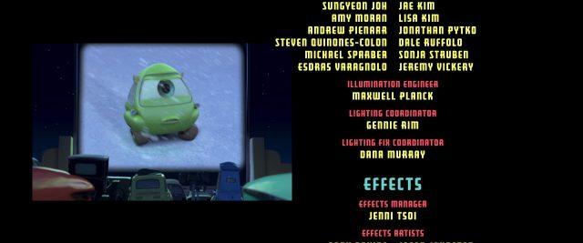bob mike razowski personnage character cars disney pixar