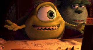 bob razowski mike wazowski pixar disney personnage character monstres cie monsters inc