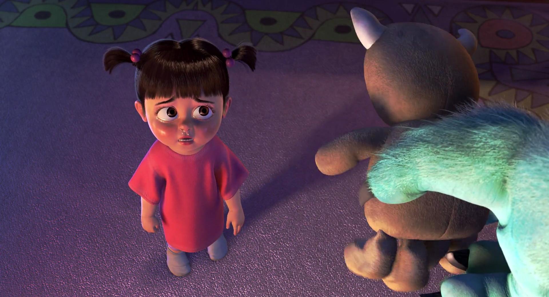 bouh personnage dans monstres cie pixar planet fr. Black Bedroom Furniture Sets. Home Design Ideas
