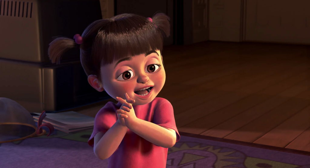 bouh boo pixar disney personnage character monstres cie monsters inc