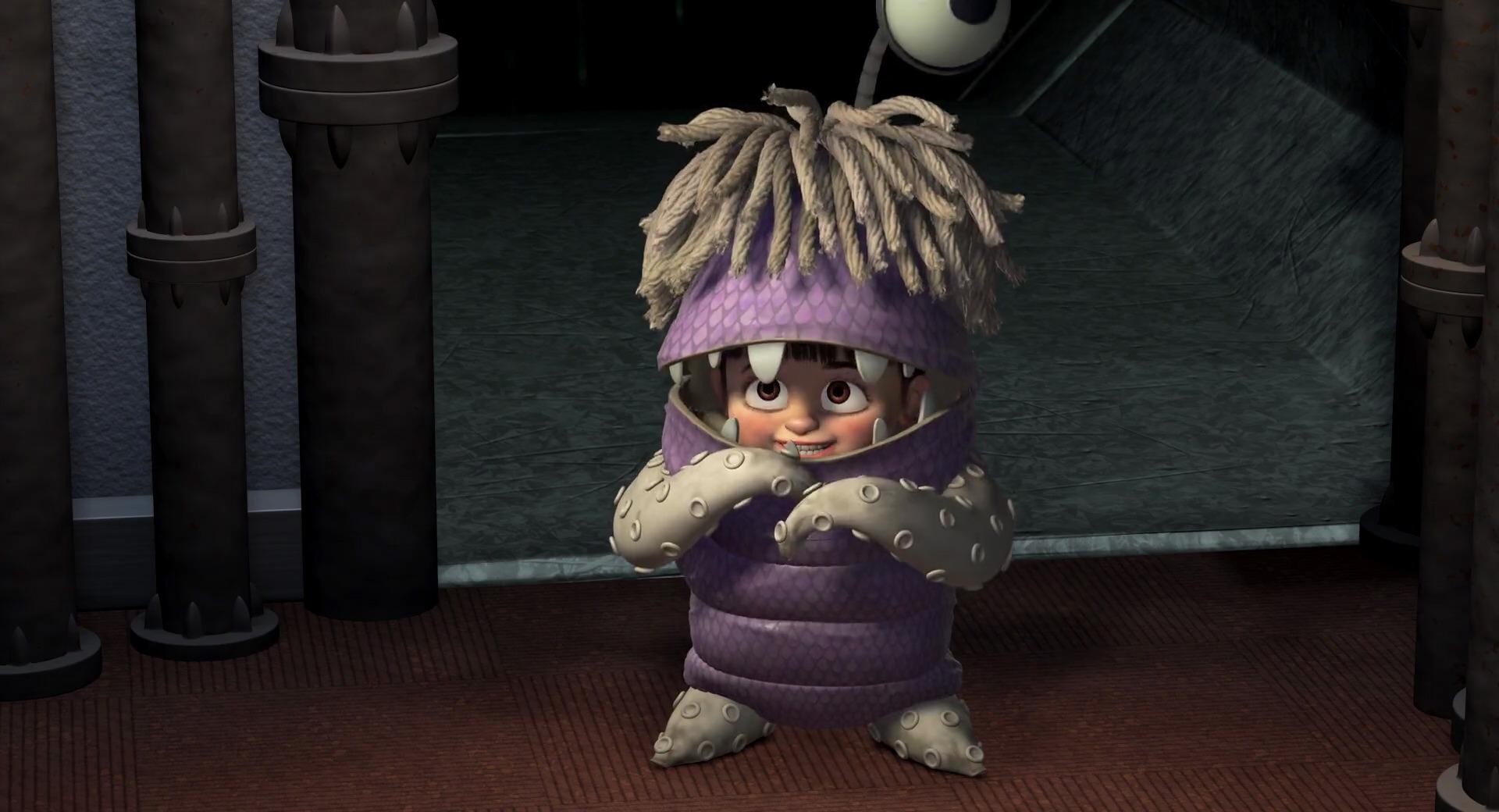 Bouh Personnage Dans Monstres Amp Cie Pixar Planet Fr