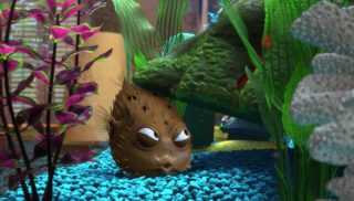 boule bloat monde finding nemo disney pixar personnage character