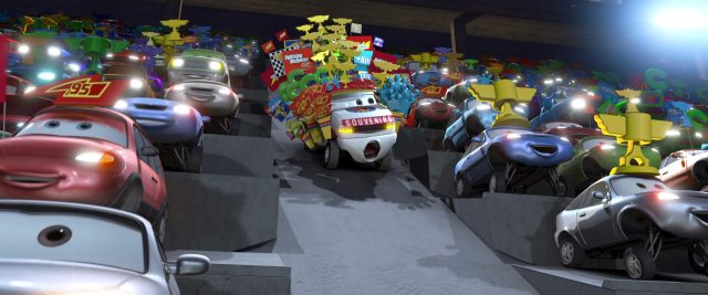 brian  personnage character cars disney pixar