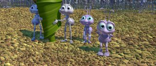 brin daisy hortimer Reed Daisy Grub pixar disney personnage character 1001 pattes a bug life