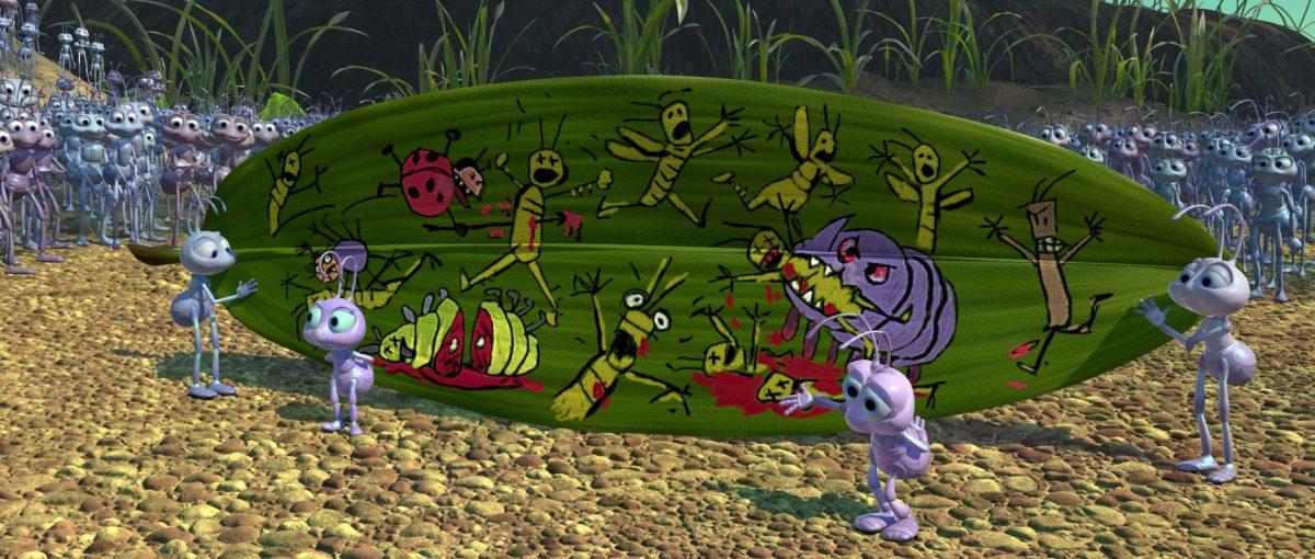 Reed Daisy brin Grub hortimer personnage character 1001 pattes bug life disney pixar