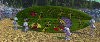 brin daisy hortimer Reed Daisy Grub pixar disney personnage character 1001 pattes a bug life