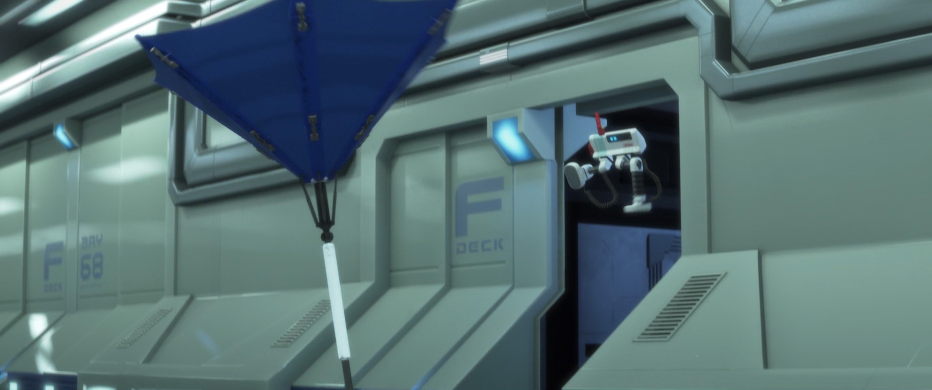 """BRL-A, character from """"WALL-E"""". 