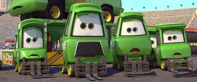 bruiser bukowski personnage character cars disney pixar