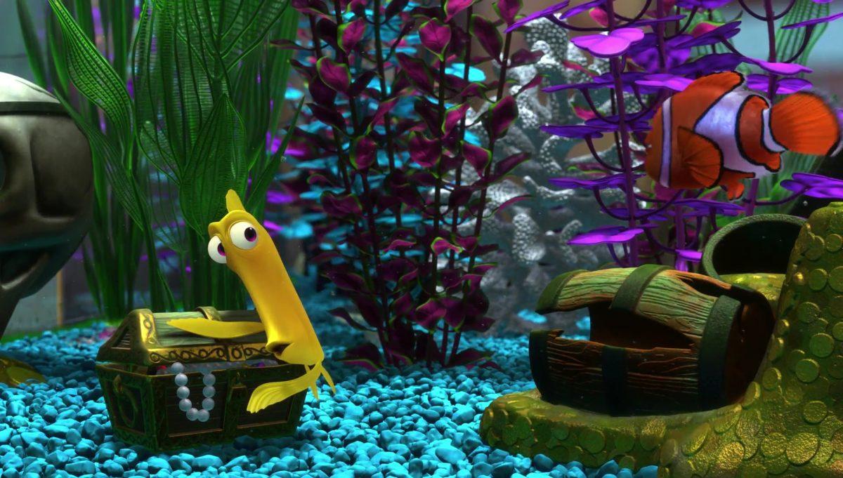 bubbles personnage character monde nemo finding dory disney pixar