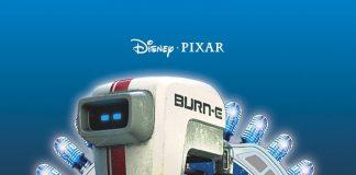 affiche burn-e pixar poster short court