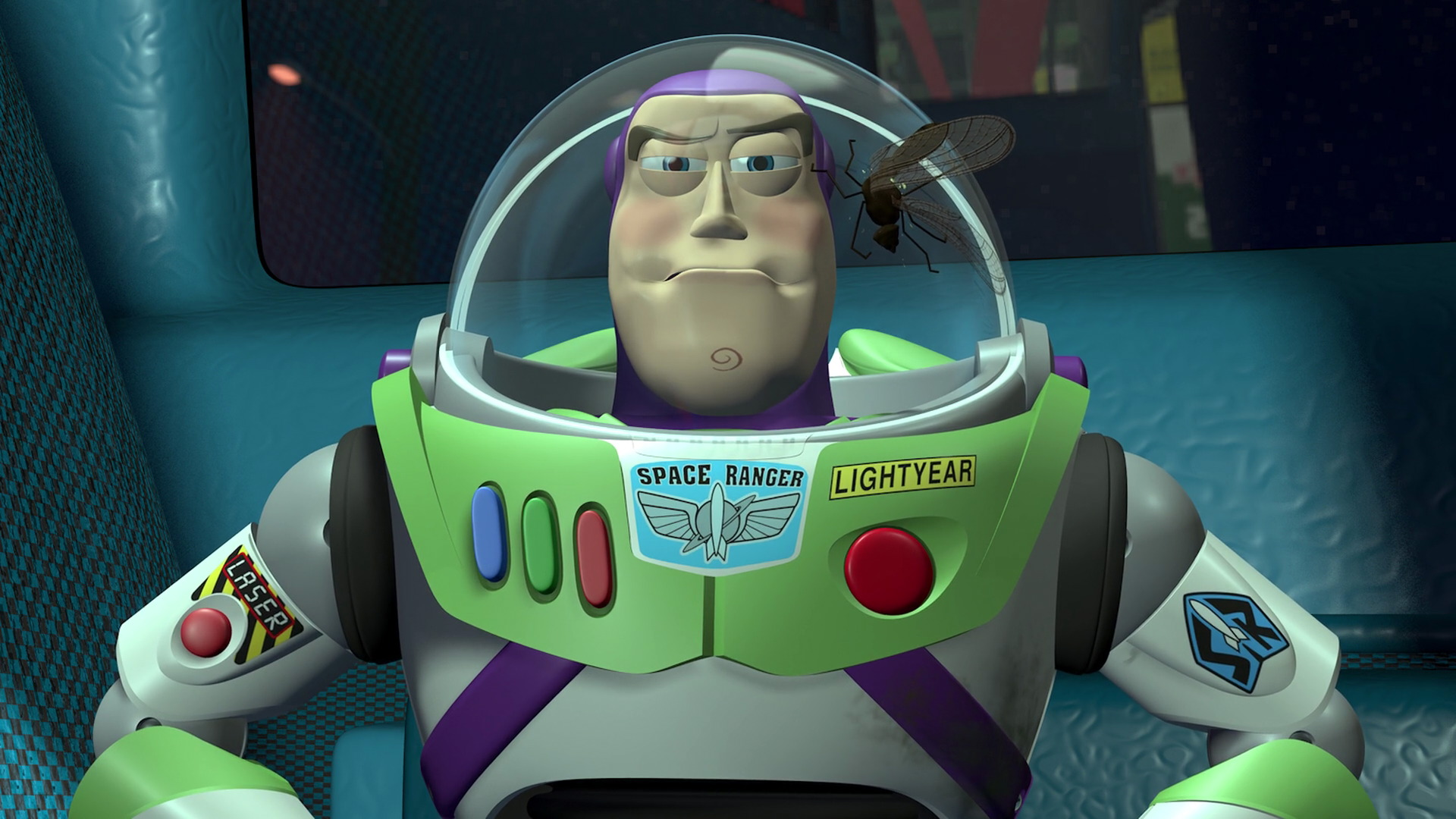 Buzz lightyear character from toy story pixar planet fr - Cochon de toy story ...