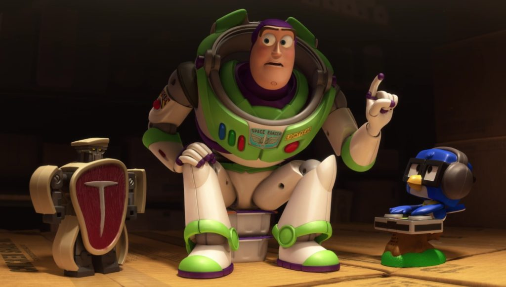 buzz eclair personnage character pixar disney toy story toons mini buzz small fry
