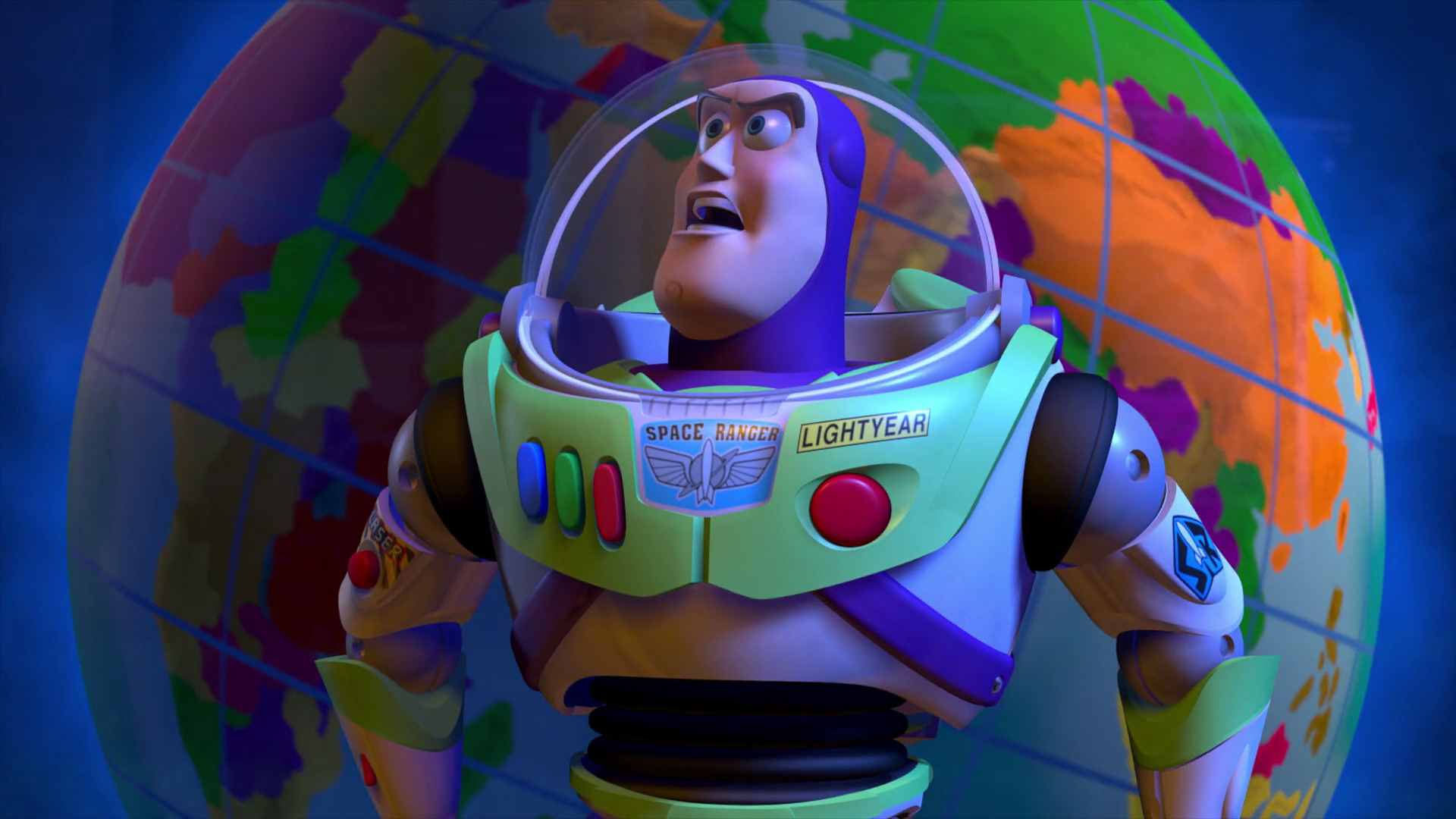 """Buzz Lightyear, character from """"Toy Story"""". 