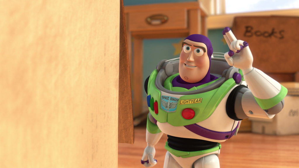 buzz pixar disney personnage character toy story 3