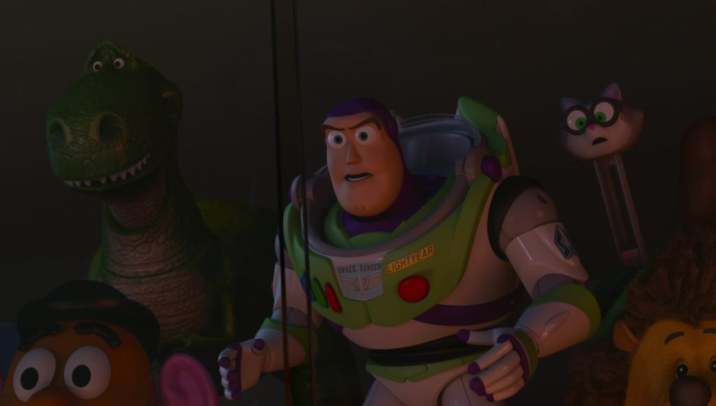buzz personnage character pixar disney toy story angoisse motel terror