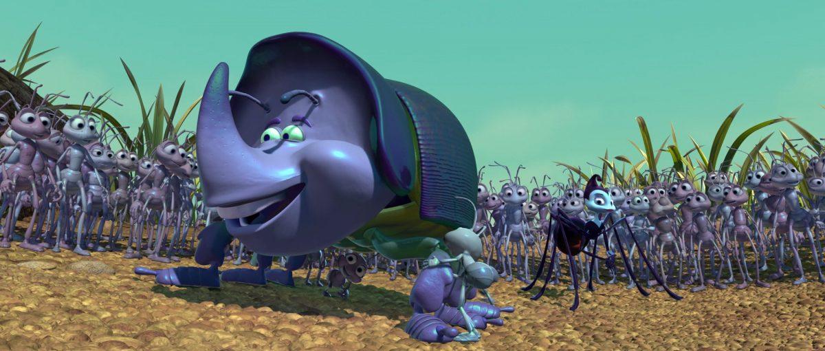 cake dim personnage character 1001 pattes bug life disney pixar