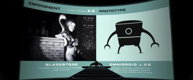 calorigil personnage character indestructibles incredibles disney pixar