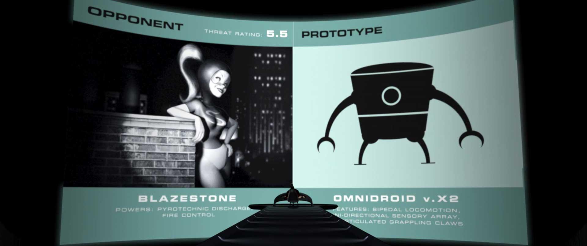 calorigirl blazestone pixar disney personnage character indestructibles incredibles