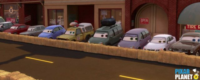 cars 2 camion truck pizza planet disney pixar