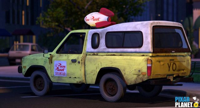 toy story 2 camion truck pizza planet disney pixar