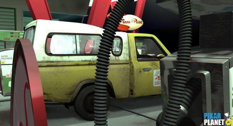 Les apparitions du camion Pizza Planet dans les productions Pixar.