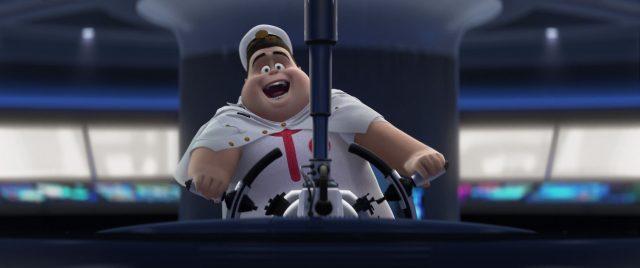 capitaine captain mccrea personnage character wall-e disney pixar