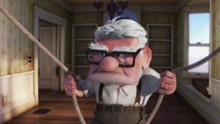 carl fredricksen personnage character pixar disney là-haut up