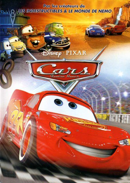 affiche poster cars disney pixar