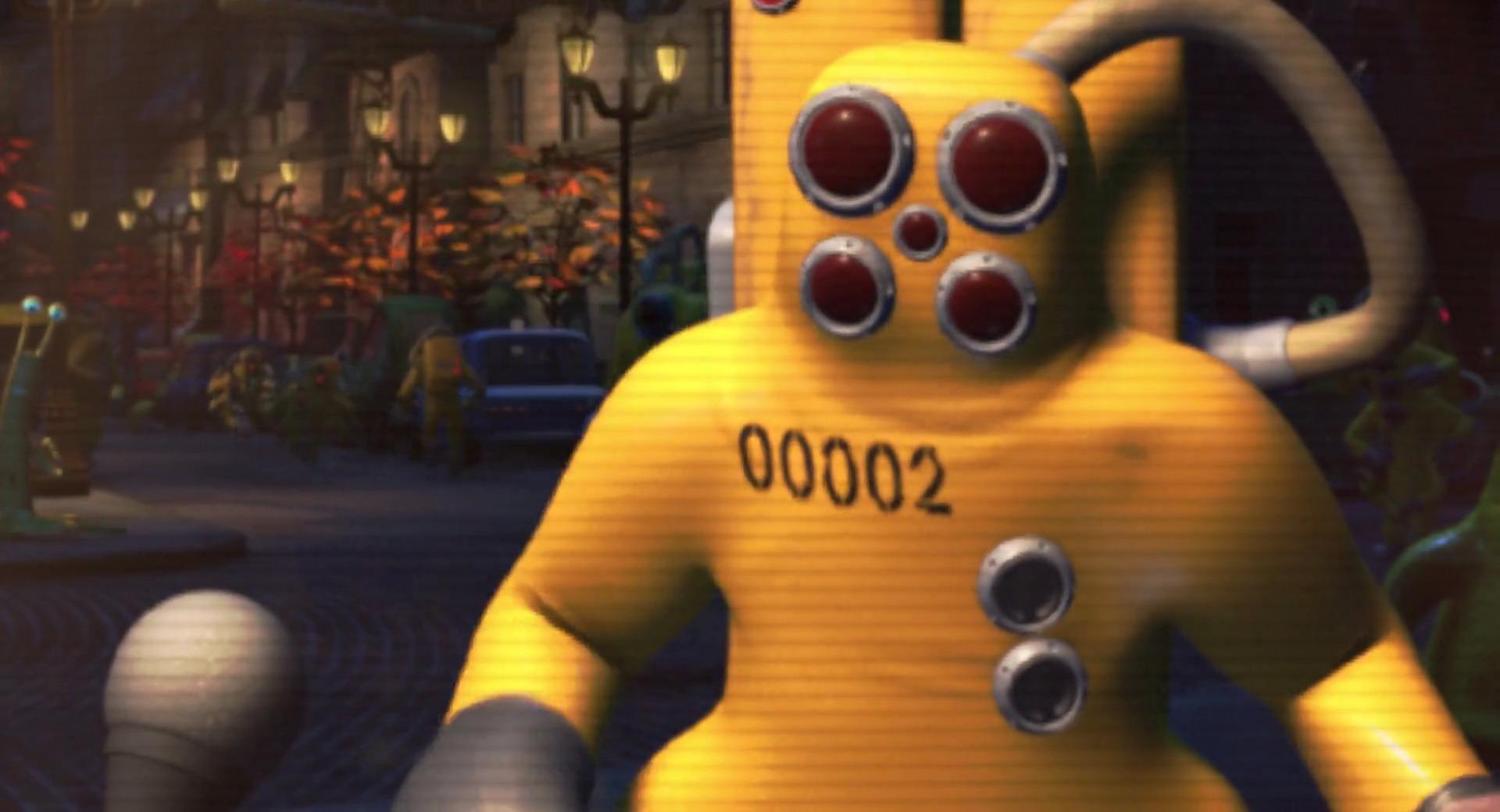 les agents de la cda personnages dans monstres cie pixar planet fr. Black Bedroom Furniture Sets. Home Design Ideas