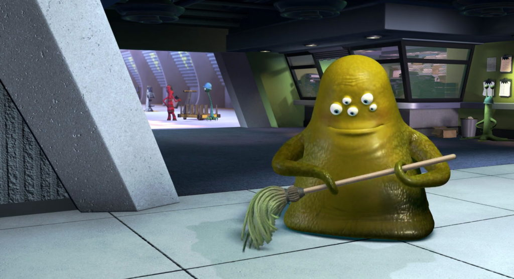 chalooby pixar disney personnage character monstres cie monsters inc