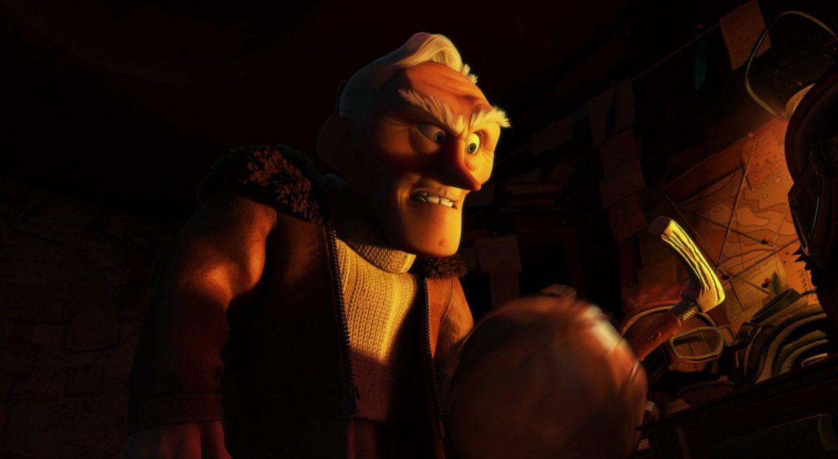charles muntz personnage character là-haut up disney pixar