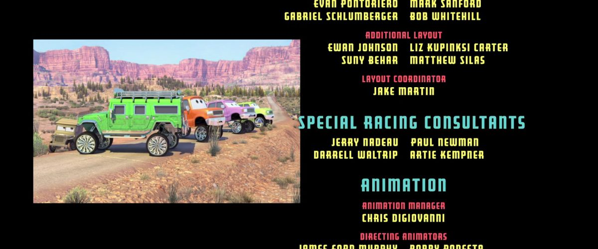 charlie cargo personnage character cars disney pixar