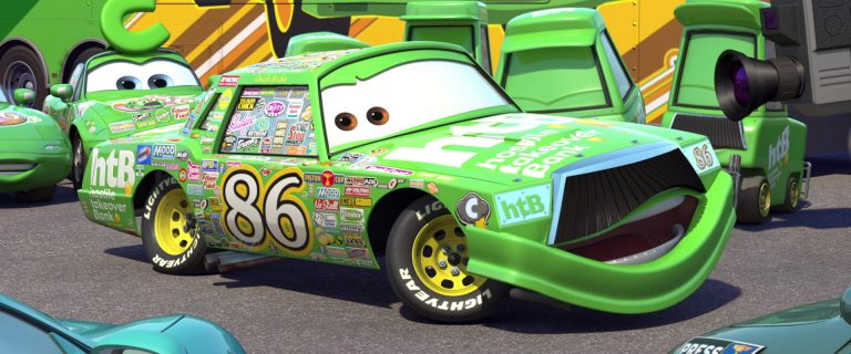 """Chick Hicks, personnage dans """"Cars""""."""