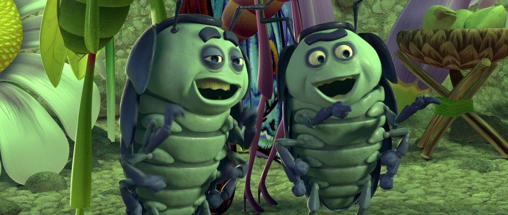 chivap chichi tuck roll Disney Pixar 1001 pattes a bug's life