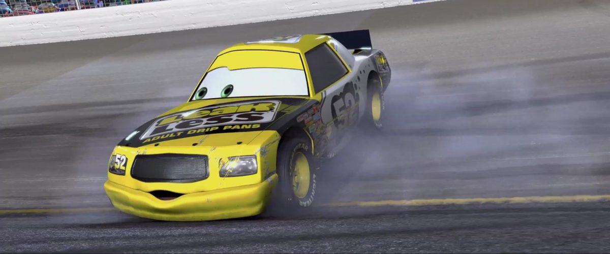 claude scruggs personnage character cars disney pixar
