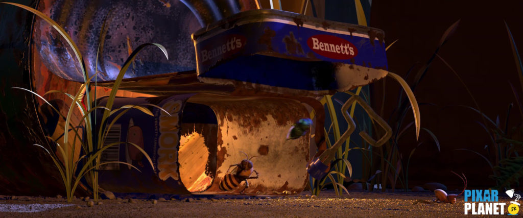 1001 pattes bug life clin oeil easter egg pixar disney