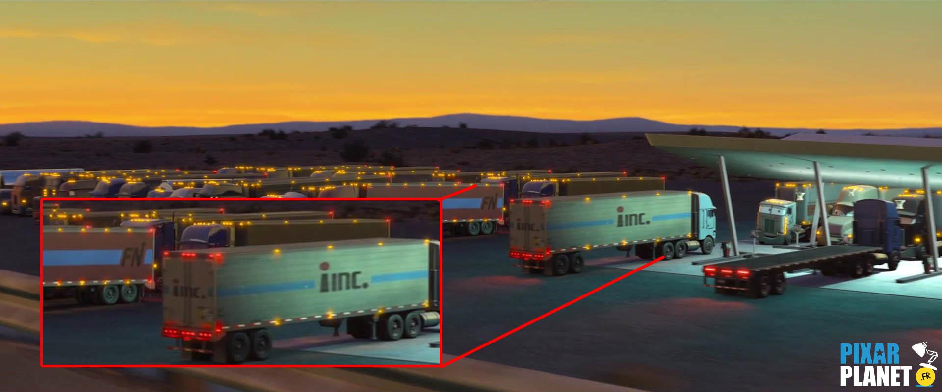 """Les clins d'oeil dans """"Cars""""    Pixar-Planet Fr"""