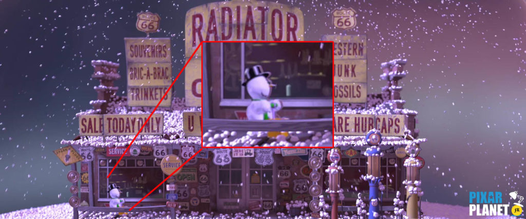 cars clin oeil easter egg pixar disney