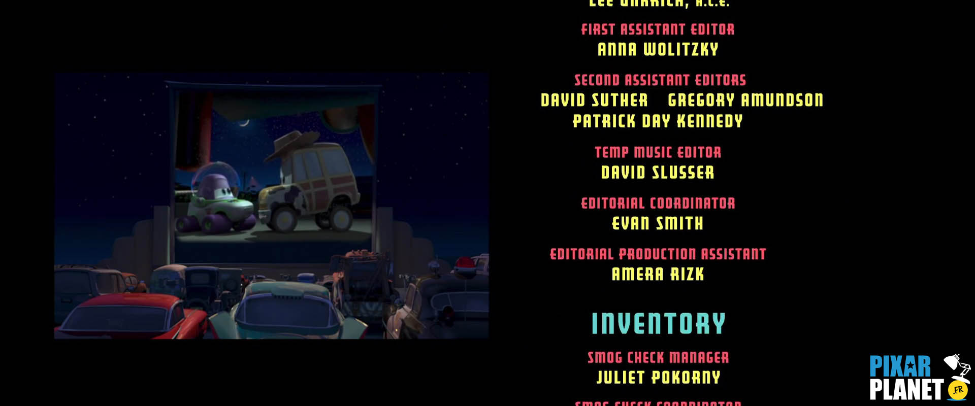 Easter Eggs From Cars Pixar Planet Fr