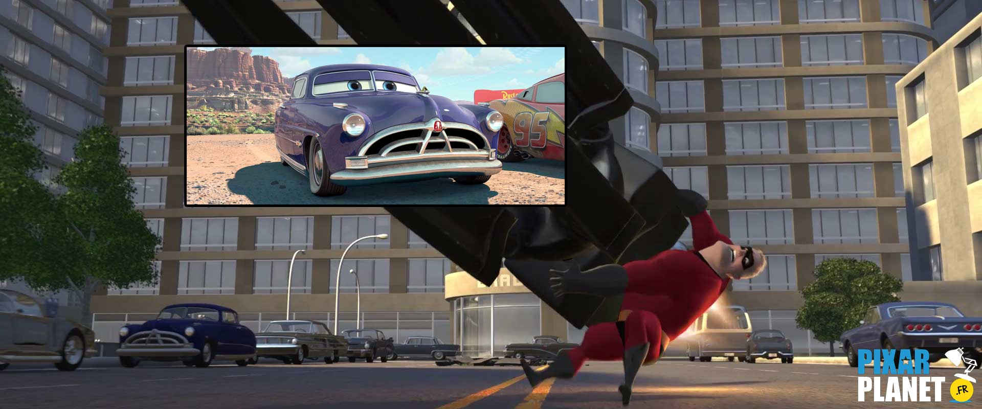 clin oeil les indestructibles pixar disney easter egg incredibles