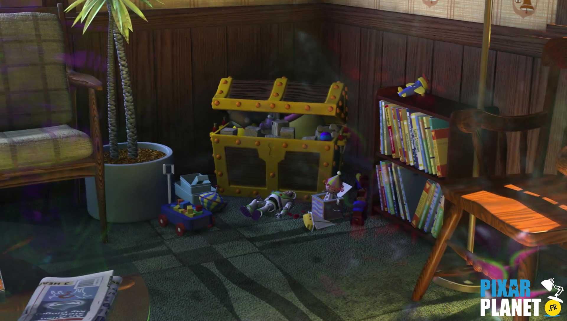 clin oeil easter egg monde nemo finding pixar disney