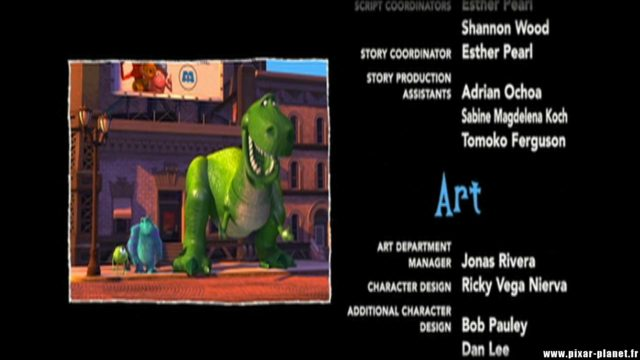 Clin oeil Easter egg Monstres Cie monsters inc disney pixar
