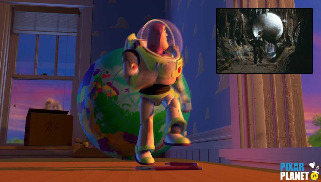 clin oeil easter egg toy story pixar disney